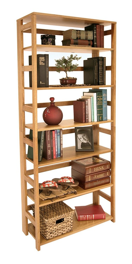 67 inch folding bookcase