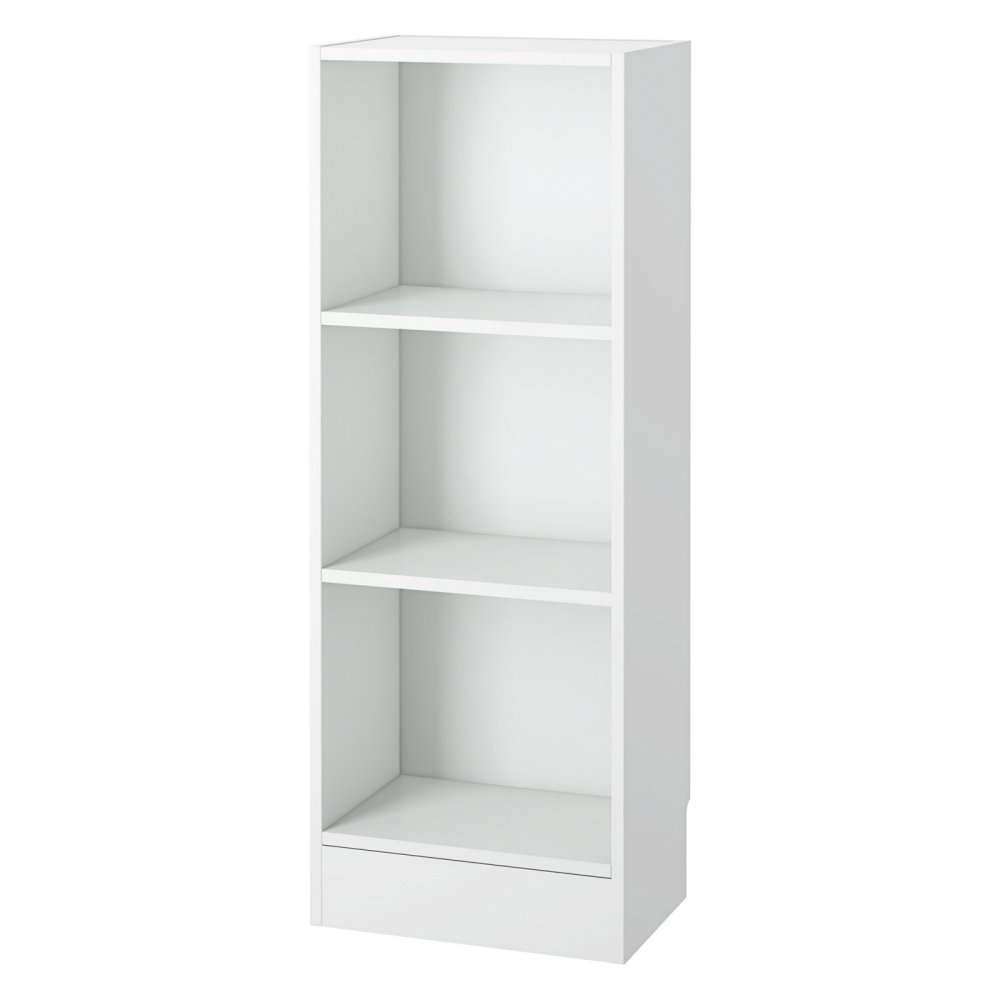 low narrow bookshelf