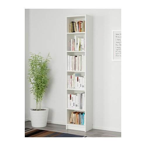 Tall narrow bookshelf