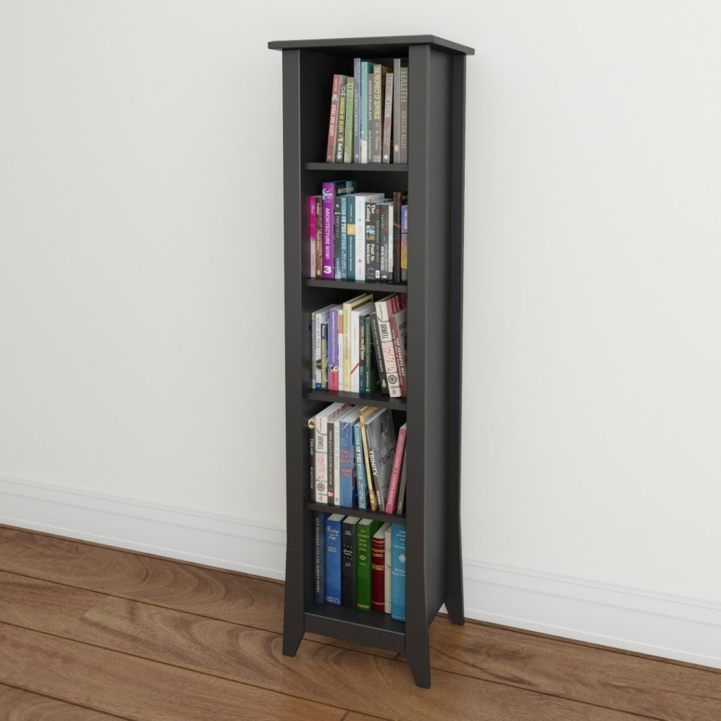 adjustable narrow bookcase