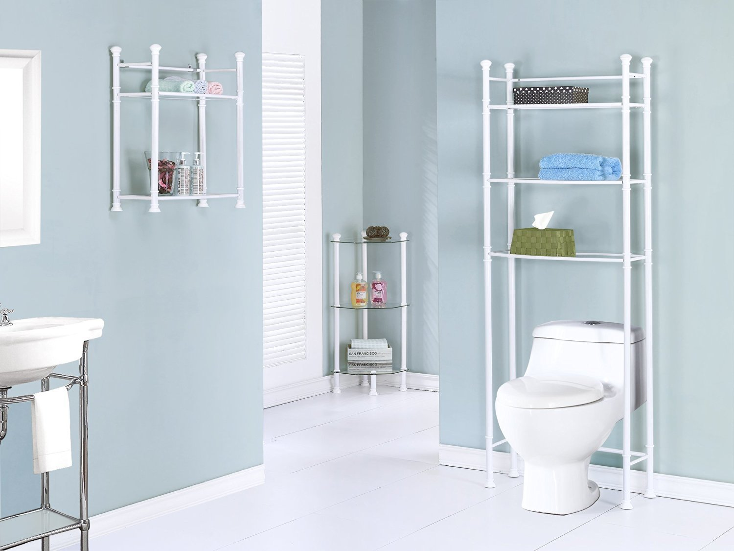 Review of Glass-based Bathroom Corner Shelves