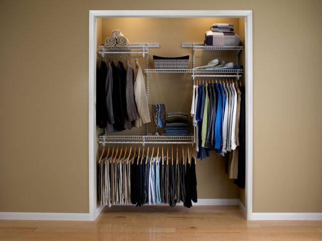 Mini Adjustable Closet Organizer