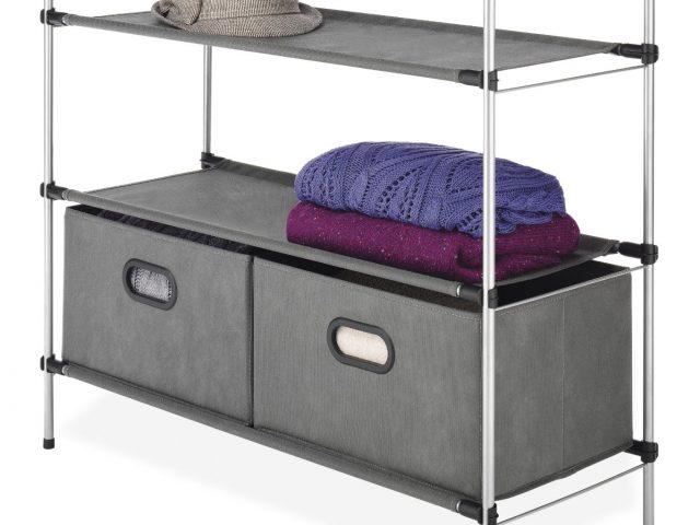 Mini Closet Shelving Unit