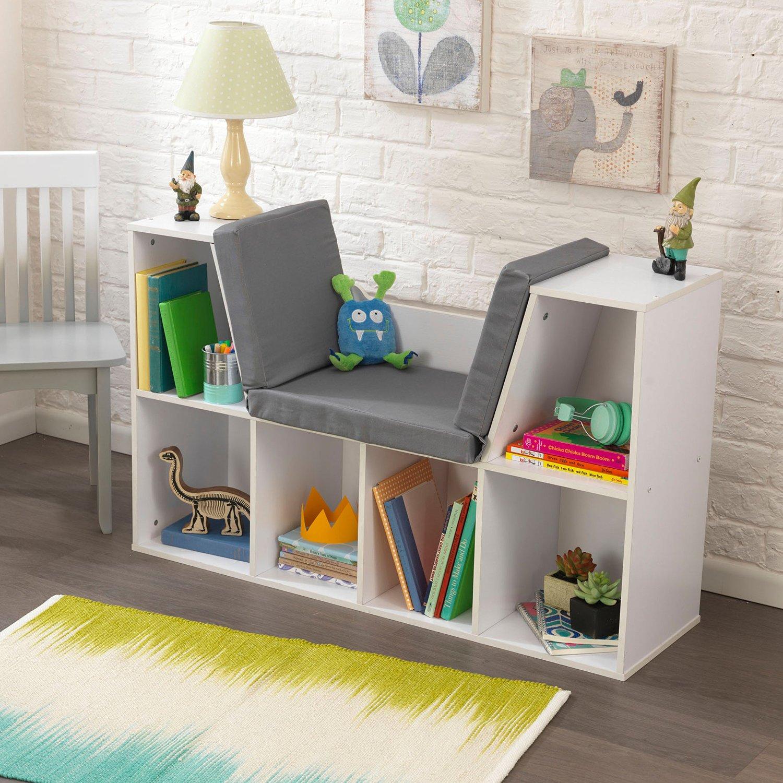 White Bookcases And Bookshelfs