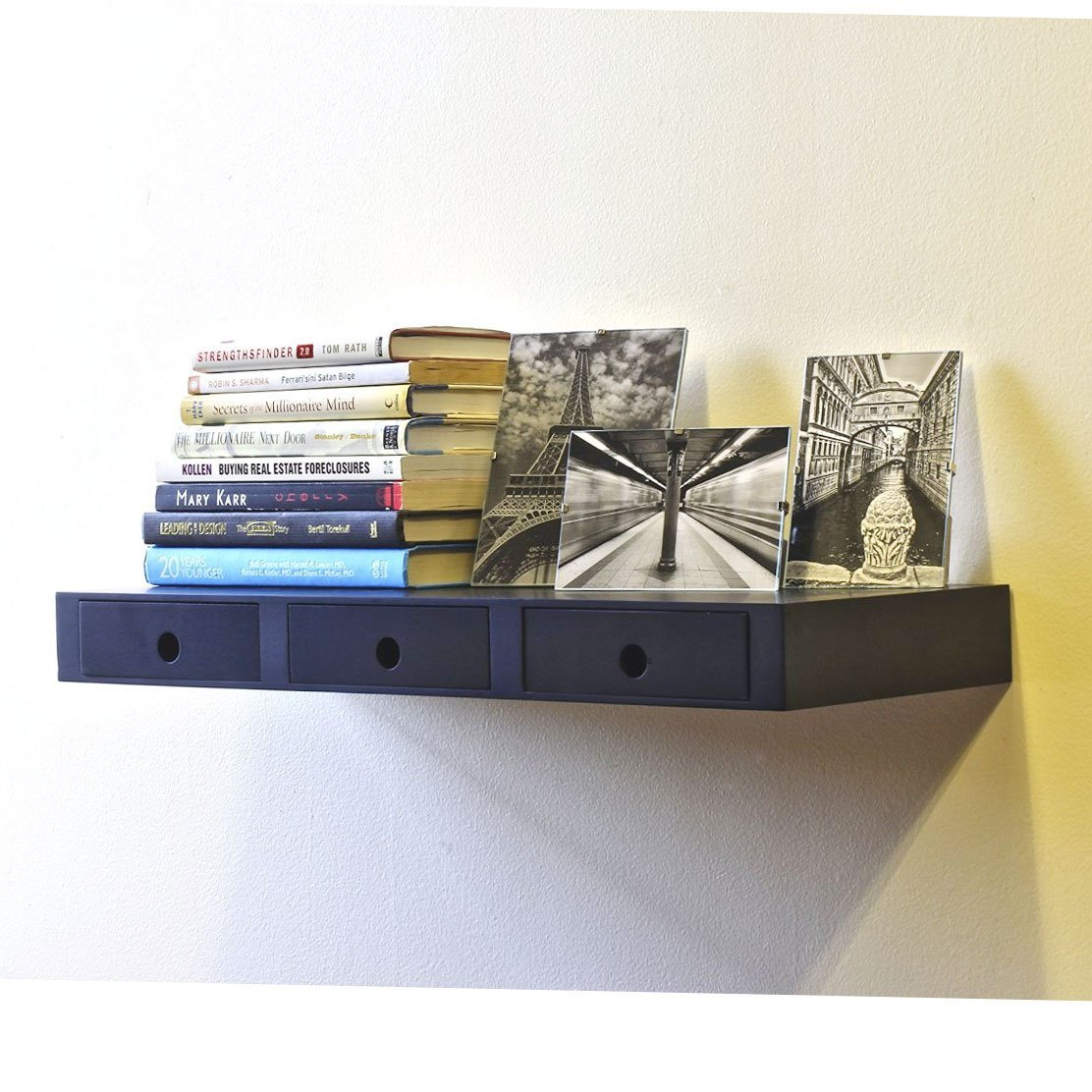 10 amazing floating shelf with drawer to make your home fascinating - Amazing shelves ...