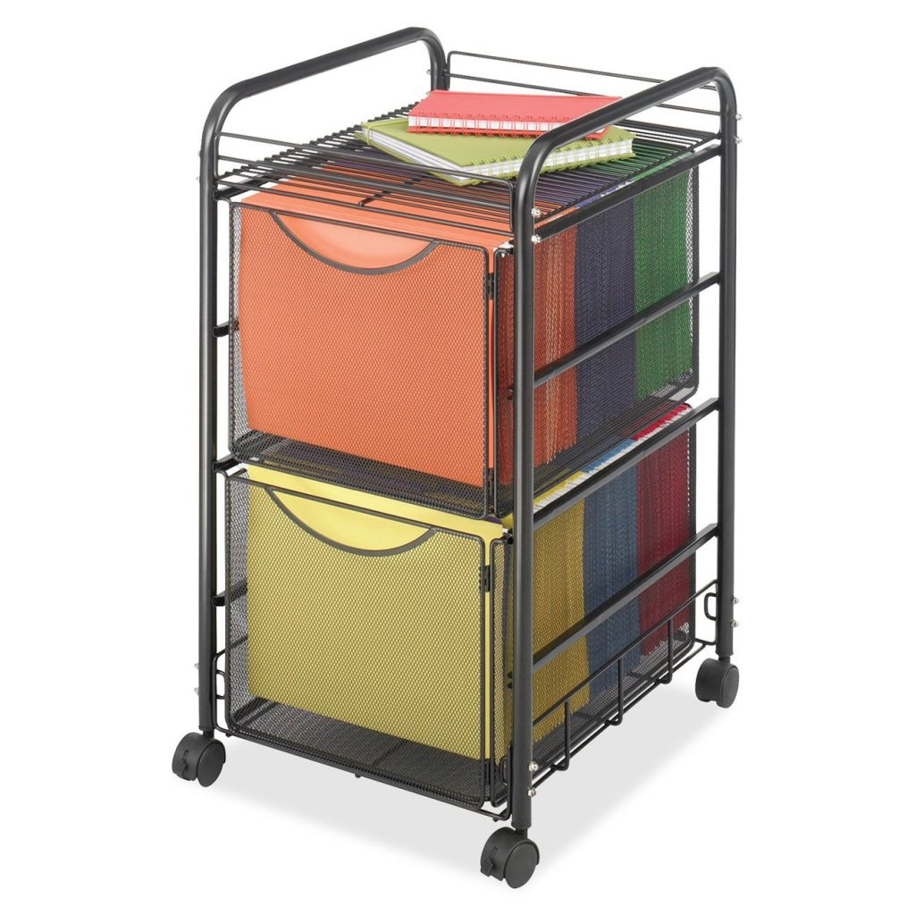 Mobile File Cart With 2 Drawer