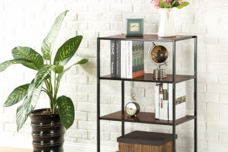 glass based bookcases